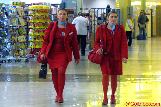 Austrian-Airlines-Air-Hostess