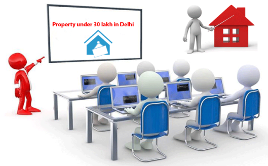 property for rs below 30 lakhs for sale in delhi