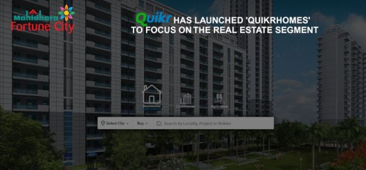 Quikr real estate in Bangalore