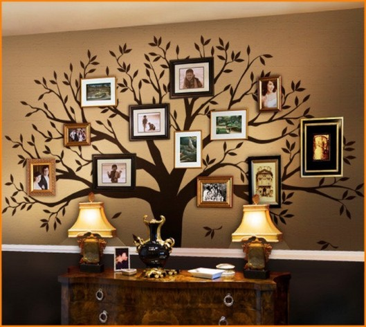 family tree wall decor ideas