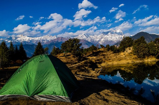 Deoria Tal and Chandrasilla Top Trek