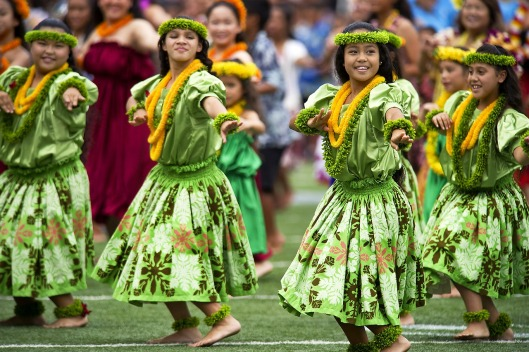Hawaiian Hula Dance