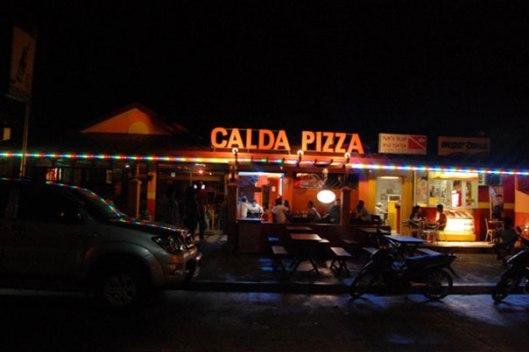 Calda pizza